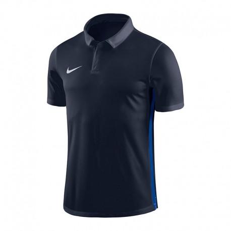 Nike Poloshirt für Training  in Dunkelblau (mit Aufdruck)
