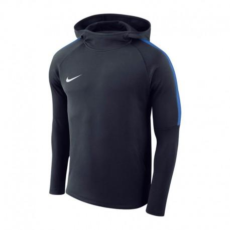 Nike Polyester Kapuzenpulli Marineblau