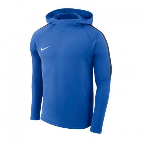 Nike Polyester Kapuzenpulli Blau (ohne Aufdruck)