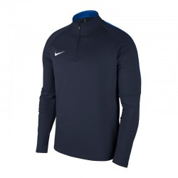 Nike Drill Top in  Dunkelblau