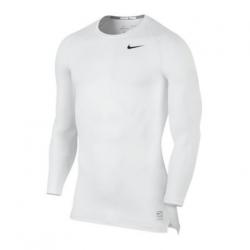 Nike Pro Compression LS Shirt weiß F100