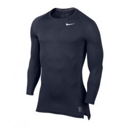 Nike Pro Compression LS Shirt dunkelblau F451